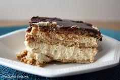 Melissa's Cuisine: Peanut Butter Eclair Dessert