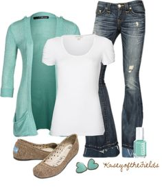 """Baby Blue"" by kaseyofthefields on Polyvore"