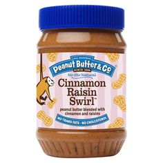 Cinnamon Raisin Swirl Peanut Butter!