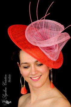 Collection chapeaux 2018 Millinery Hats, Fascinator Hats, Fascinators, Headpieces, Fancy Hats, Cool Hats, Occasion Hats, Diana, Cocktail Hat
