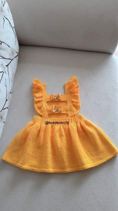 Knit Baby Dress, Baby Knitting, Dresses, Vestidos, Baby Knits, Dress, Gown, Outfits, Baby Afghans