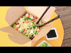 Cauliflower Fried Rice | Hungry Girl Videos