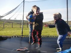 FROST DOESN'T STOP PLAY – SWINGS AND TRAMPOLINE