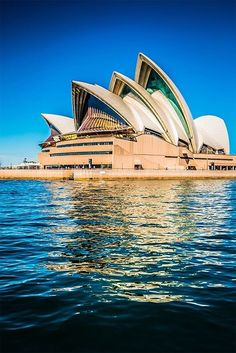 Sydney Opera House, Australia. Even though I have gone to Syndey I wasn't able to go the Sydney Opera House. One day maybe:)