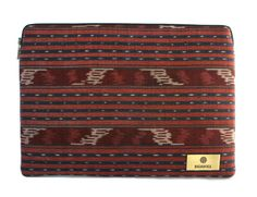 "15"" Merah Case Ikat, 21st Century, Hand Weaving, Card Holder, The Originals, Hand Knitting, Letter Tray, Weaving, 3rd Millennium"