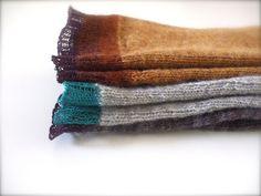 {k2 + k3} Faux bois and Encore une fois by seahorse knits, via Flickr