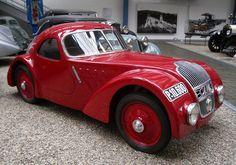 Jawa 750 car, Jawa Motors, Czechoslovakia, 1935 - NTM, Prague by. Vintage Sports Cars, Classic Sports Cars, Vintage Racing, Retro Cars, Vintage Cars, Classic Cars, Antique Cars, Vintage Ideas, Art Deco Car