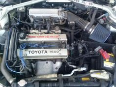 Toyota parts - heaps of stuff Corolla Twincam, Toyota Corolla, Jdm, Ae86, Car Engine, Cars And Motorcycles, Old School, Engineering, Sport Cars