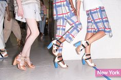 Spring 2015 Shoe Trends: Nicholas Kirkwood for Suno's strappy sandals