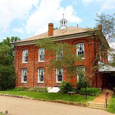 Old Zoar schoolhouse....Zoar, Ohio