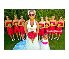 Red bridesmaid dresses/Aline dresses/Strapless by bridalfound, $114.00