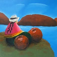 Resultado de imagen de pintura peruana naif