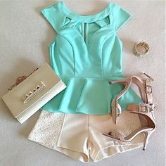 Summer Outfit. I wanna try something like this