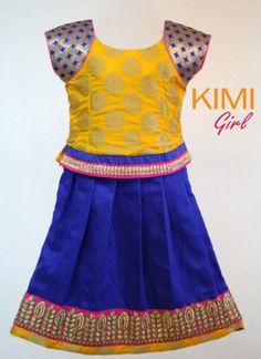 #kids #choli #pattu #pavadai #girls #silk #traditional #designer #creative #indian #lehenga #kidswear #skirt #trendy #children #clothes #new #stylish #kimi #dresses #partywear #apparel #fashion #readymade #girl #dress
