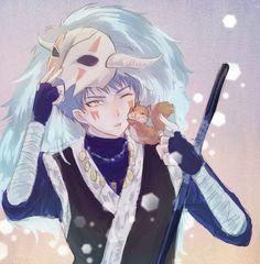 Akatsuki no Yona/ Yona of the Dawn: Shin- ah AKA THE BLUE DRAGON and AO