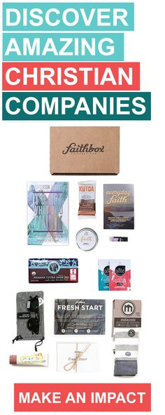Faithbox helps Christian consumers discover amazing companies that respect God's creation and we publish a devotional with great reflections for each day of the month! For each box we ship, we provide 3 meals to hungry kids.  Use promo code FALL15 for 10% through 11/30/2015!   .