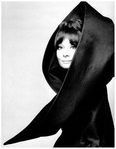 Audrey Hepburn in Valentino. Vogue Italia, 1969.