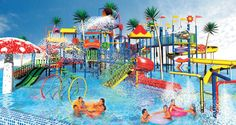 water parks are the places where everyone enjoy no matter of the age.