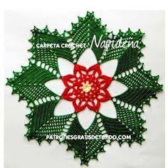 Resultado de imagen de coronas de navidad hechascon aplicaciones e ganchilo