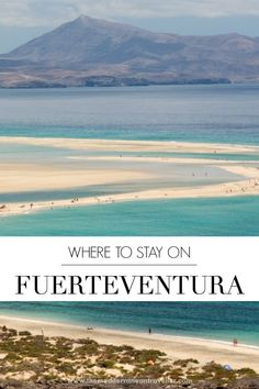Best Places Stay on Fuerteventura: Ultimate Beach Resort Guide. Here's a complete rundown of where to stay on Fuerteventura: which part of the island to stay in; which town, resort or beach is for you; the best hotels and rooms. Best Resorts, Hotels And Resorts, Backpacking Spain, Travel Advice, Travel Tips, Travel Guides, Spain Culture, Spain Travel Guide, The Beach