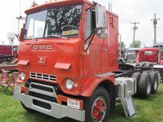 GMC Crackerbox with an 8v-71 Detroit diesel.