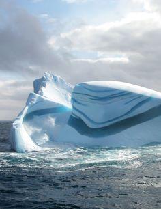 Inspiring landscape: Iceberg