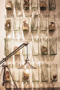 Our recycled glass hang squares have endless possibilities for use...is this a look you love?