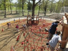 Woodland Discovery Playground at Shelby Farms Park | James Corner Field Operations
