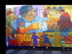 SIRENA , Arte Pùblico y Muralismo: Murales en Mar del Plata - Omar Sirena