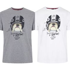 "@merclondonuk ""Bowie Bulldog Tee"" #merc #merclondon #britishstyle #britstyle #carnabystreet #camisetas #tee #mercmadrid #madrid https://www.rivendelmadrid.es/marcas/merc.html"