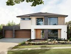 Image result for contemporary double story house facades australia