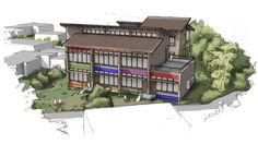 Desenho de Arquitetura EEI São Judas Tadeu INVERNO STUDIO