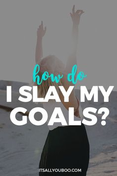 Achieving your goals is 20% setting them but 80% slaying them. It's time to start slaying and living the life of your dreams. Get your free 10-step guide.