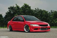 The best looking evo.