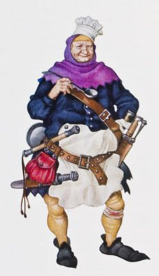 Arthur Szyk, The Canterbury Tales, The Cook.