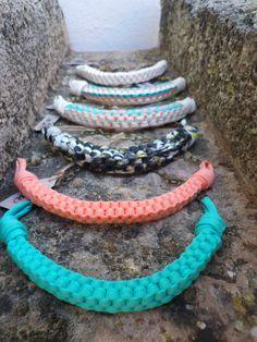 Colección collares de trapillo www.be-live.es