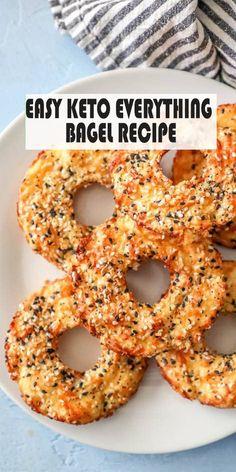Easy Keto Everything Bagel Recipe – bestcookers - bestcookers para principiantes recetas Keto Diet List, Starting Keto Diet, Low Carb Recipes, Diet Recipes, Healthy Recipes, Tofu Recipes, Snacks Recipes, Ketogenic Recipes, Bread Recipes