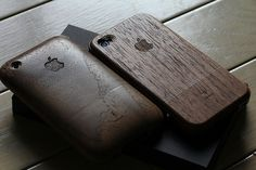 wood iPhone