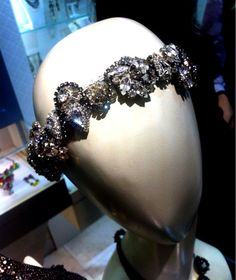 This crystal Erickson Beamon headband would be a great tiara alternative for a bride. @Roberta Hayes Erickson Beamon