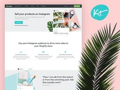 Sell your products on Instagram with Kit by Janna Hagan #Design Popular #Dribbble #shots