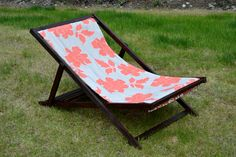 Ana White | Build a Wood Folding Sling Chair, Deck Chair or Beach Chair - Adult Size | Free and Easy DIY Project and Furniture Plans My grandmother had these and I've always wanted some!