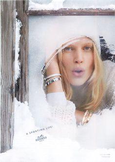 Hermès Automne Hiver 2013 2014 : Toute la Campagne en Photos