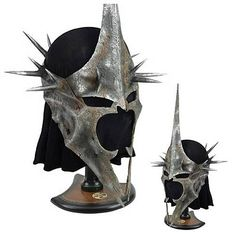 MUST SELL LOTR War Helm of the Witch-King - Limited Edition and signed goalie helmet