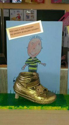 Mijn papa is mijn gouden schoen