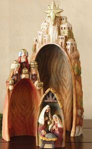 Nativity set - nesting - really like this one