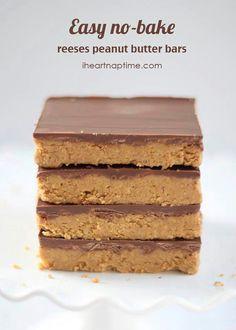 Messes peanut butter bars no bake