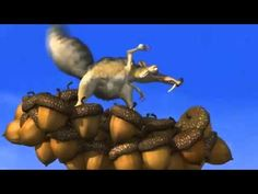 4-Minute Scrat Video:  Use for inferring, predicting, cause and effect.  Possible discussions:  What does he value?  How does he problem solve?  What is the lesson(s)?