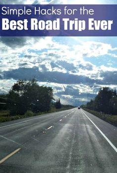 Seasoned traveler shares top tips for road trips, whether one day or many in a vehicle, from her experience including a recent RV trip of over 8000 miles. #RoadTripHacks #Carrs [ad]