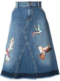 27 Upcycle Clothes Trending Now - Fashion New Trends - 27 Upcycle Clothes Trending Now Clothes The Effective Pictures We Offer You About outfits - Trending Now Fashion, Trending Outfits, Denim Fashion, Fashion Outfits, Fashion Trends, Kawaii Mode, Blue Denim Skirt, Blue Skirts, Denim Skirts
