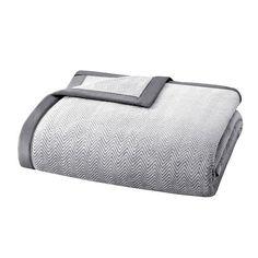 Madison Park Microlight Plush Blanket FQ $40